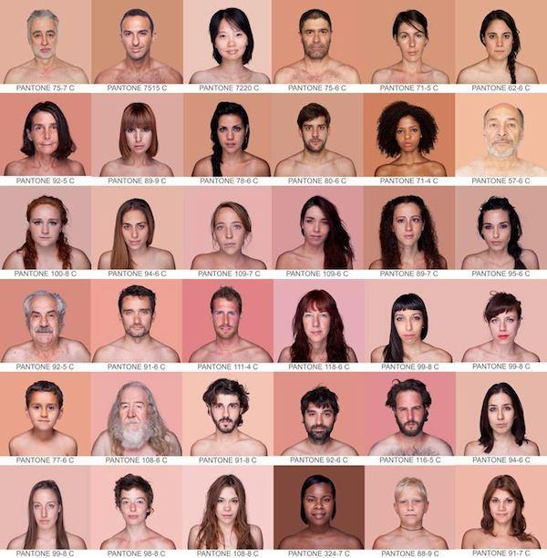 Portretten in Pantone